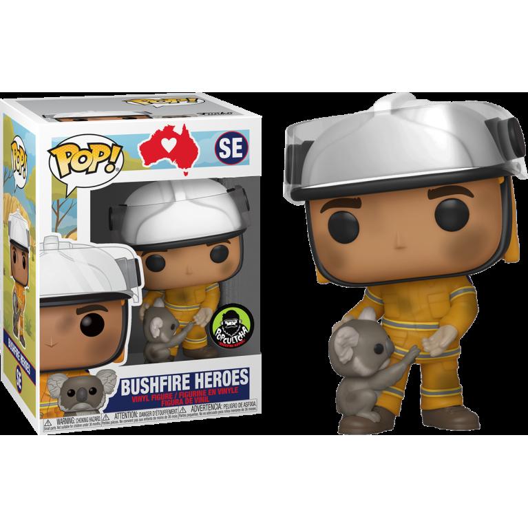 Австралийский пожарный и коала Funko POP (Bushfire Hero) - Эксклюзив