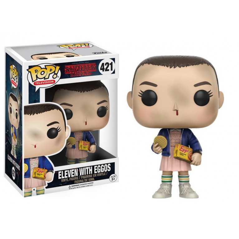 Одиннадцать Funko POP (Eleven with Eggos)