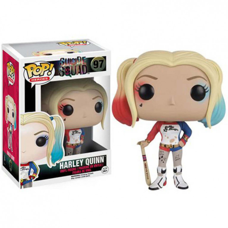 Харли Квинн с битой Funko POP (Harley Quinn Bat)