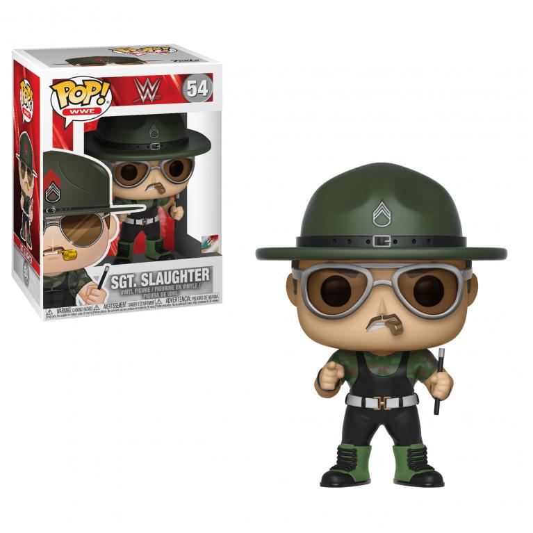 Сержант Слотер Funko POP (Sgt. Slaughter)