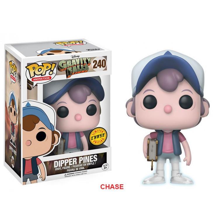 Диппер Пайнс Чейз Funko POP (Dipper Pines Chase) — Редкость — Светится в темноте!