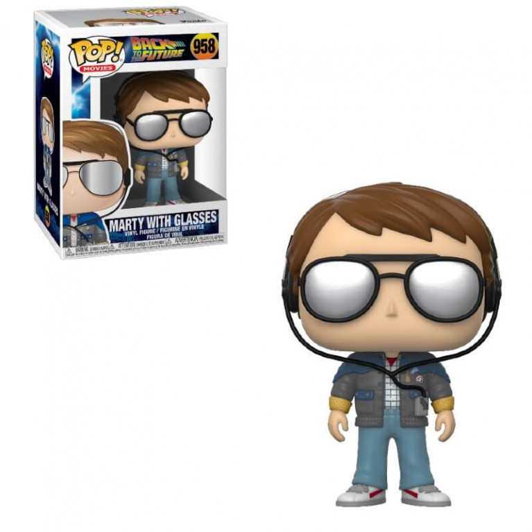 Марти МакФлай в очках Funko POP (Marty McFly in glasses)