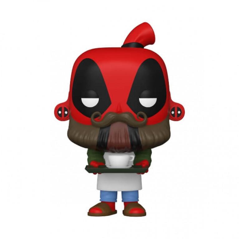 Дэдпул бариста Funko POP Deadpool 30th Coffee Barista)