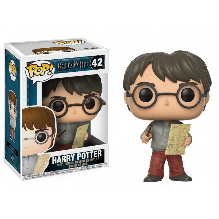 Гарри Поттер с картой Мародёров Funko POP (Harry Potter with Maradeurs Map)