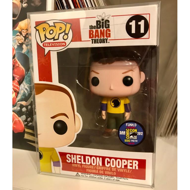 Шелдон Купер в футболке Человек-Ястреб Funko POP (Sheldon Cooper Hawkman t-shirt) - Очень редкий Эксклюзив!