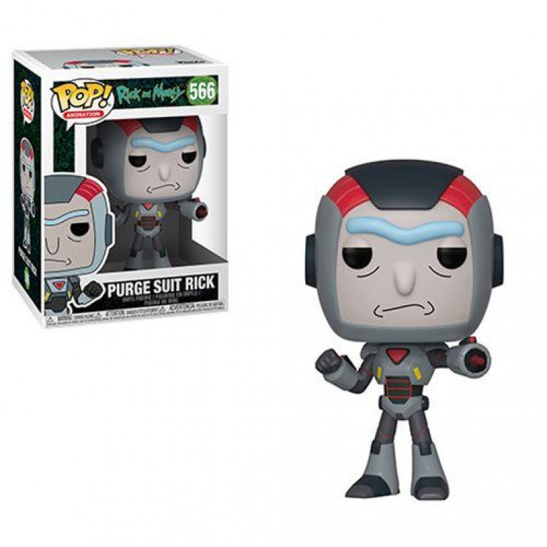 Рик в униформе Funko POP (Rick Purge Suit)