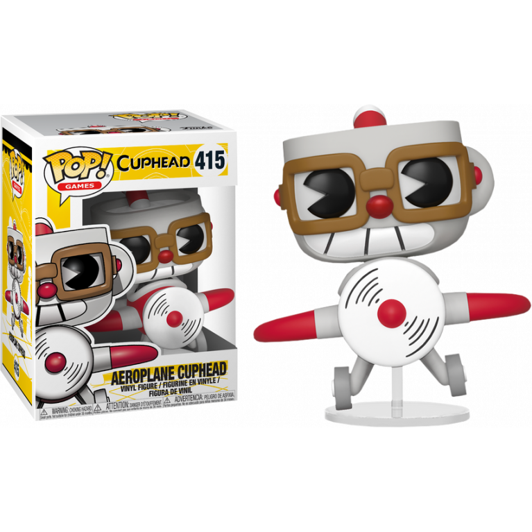 Капхэд на аэроплане Funko POP Ride (Airplane Cuphead)