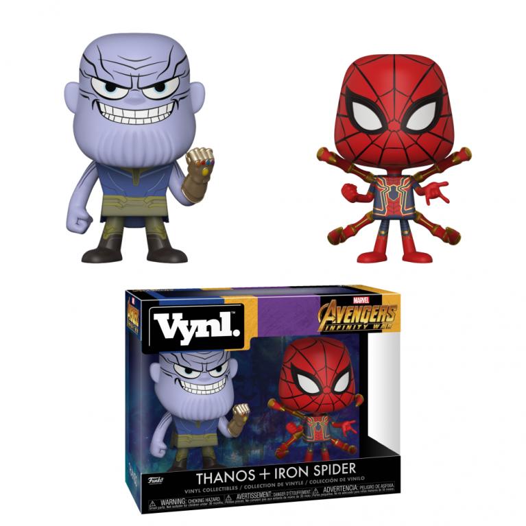 Танос и Железный Паук Vynl (Thanos and Iron Spider)