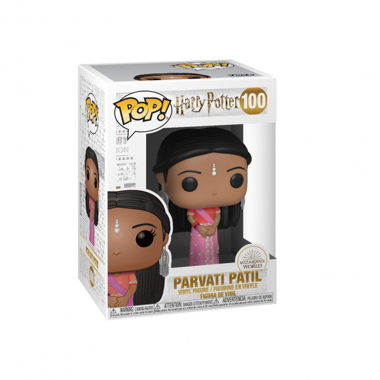 Парвати Патил на балу Funko POP (Parvati Patil Yule)