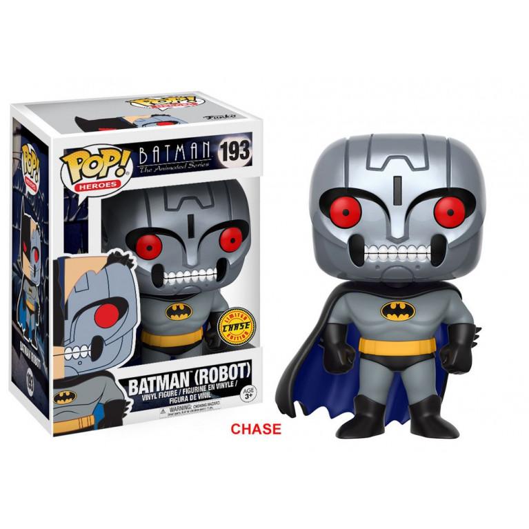 Бэтмен Робот Чейз Funko POP (Batman Robot) — Chase