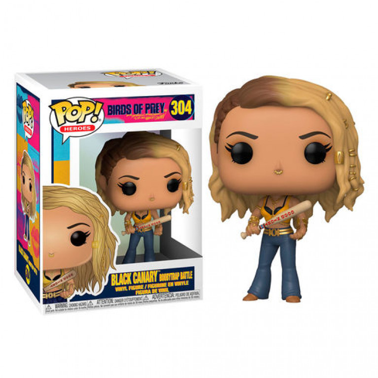 Черная Канарейка (Black Canary Boobytrap Battle) Funko POP