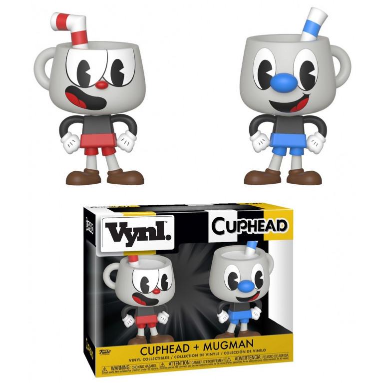 Фигурка Магмен и Капхэд Funko VYNL: Cuphead: Cuphead & Mugman 2PK