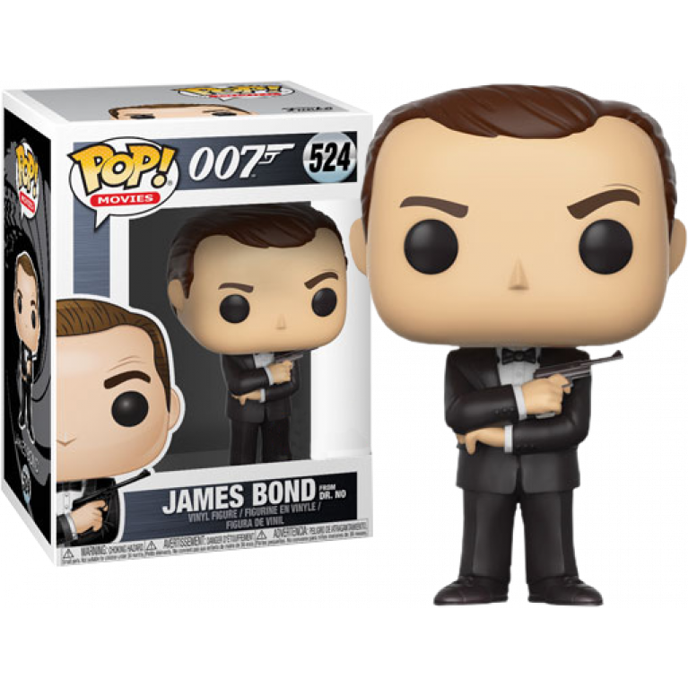 Джеймс Бонд Funko POP (James Bond Dr. No) — Эксклюзив