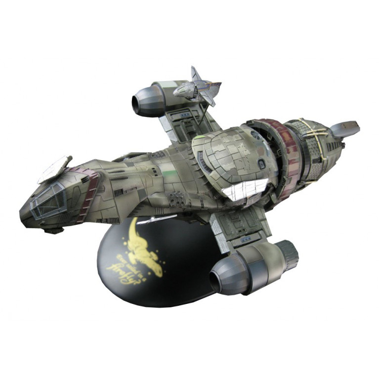 QMx Little Damn Heroes Firefly SERENITY Space Ship 1:400 Scale Maquette Statue