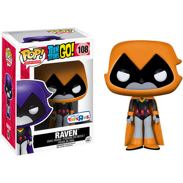 Рейвен Оранжевая Funko POP (Raven) — Эксклюзив
