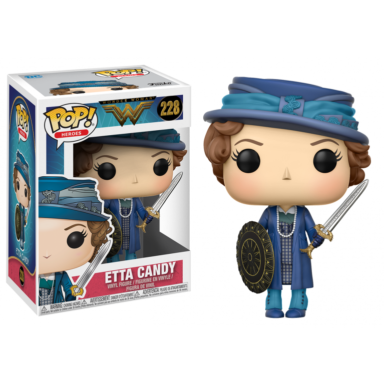 Этта с мечом и щитом Funko POP (Etta with sword and shield)