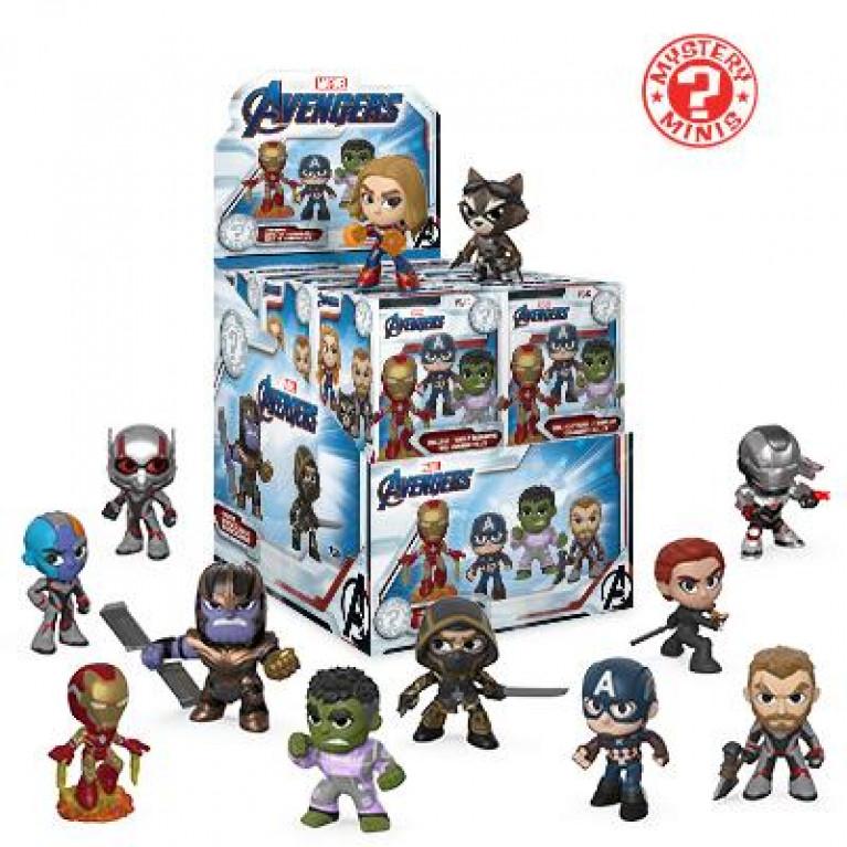 Мстители: Финал Мистери Мини (Avengers Endgame Mystery Minis)