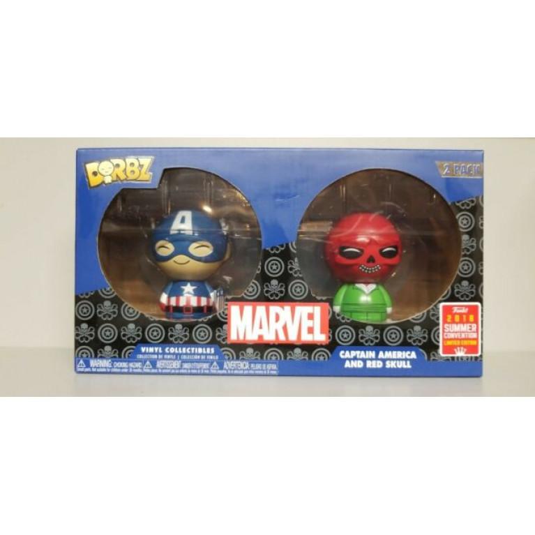 Красный Череп и Капитан Америка dorbz (Captain America and Red Skull) — Эксклюзив