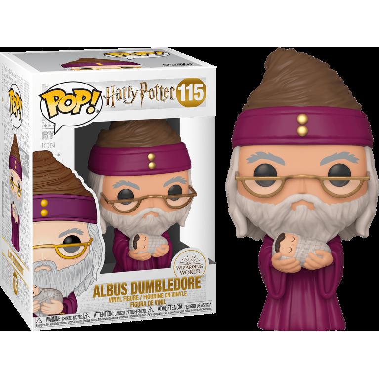 Альбус Дамблдор с маленьким Гарри Funko POP (Albus Dumbledore with baby Harry)