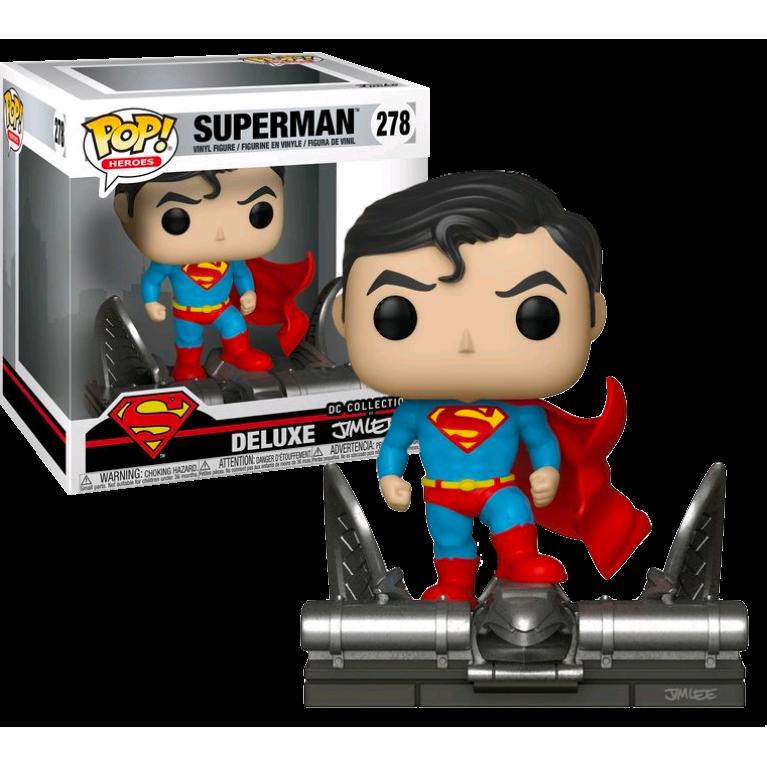 Супермен Джим Ли Funko POP Deluxe) — Эксклюзив