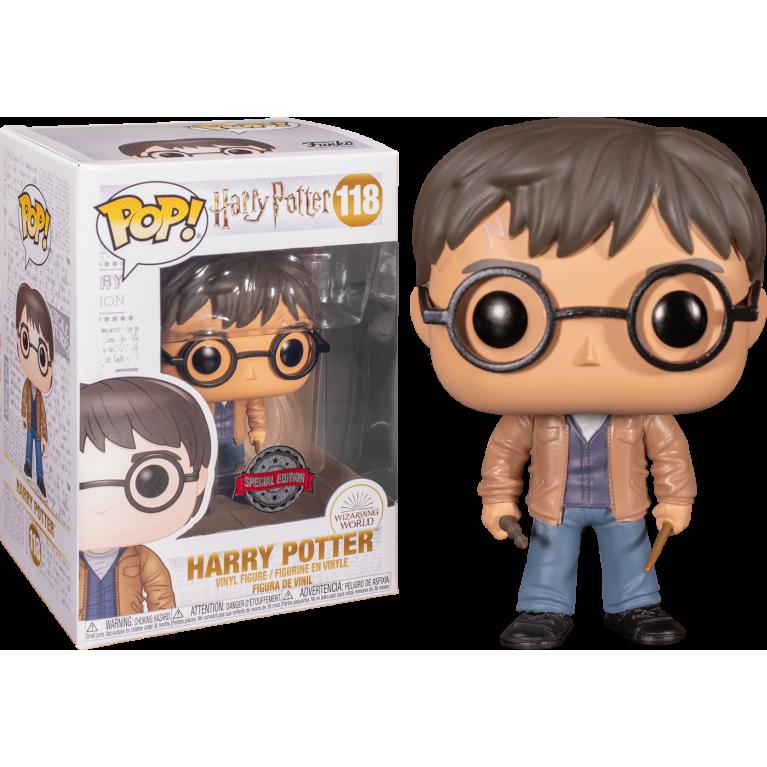 Гарри Поттер с двумя палочками Funko POP (Harry Potter with two wands)
