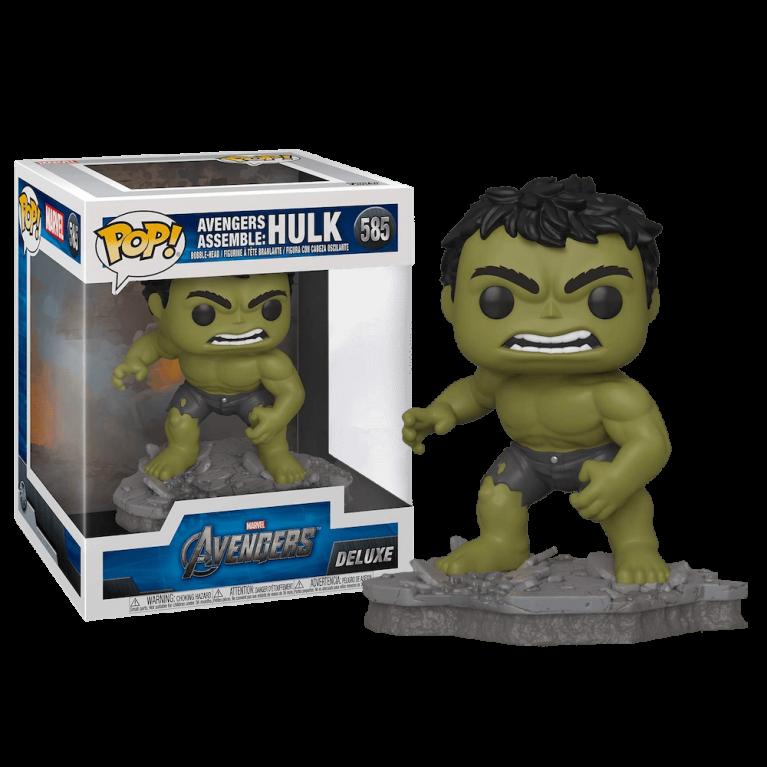 Халк Deluxe Funko POP (Hulk Avenders Assemble)