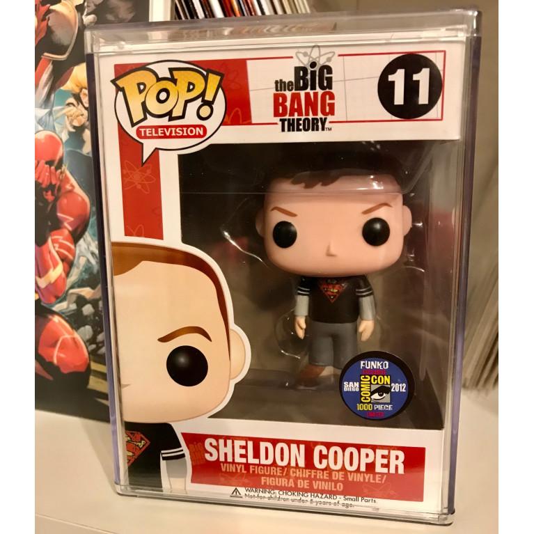 Шелдон Купер в футболке Супермен Funko POP (Sheldon Cooper Superman t-shirt) - Очень редкий Эксклюзив!