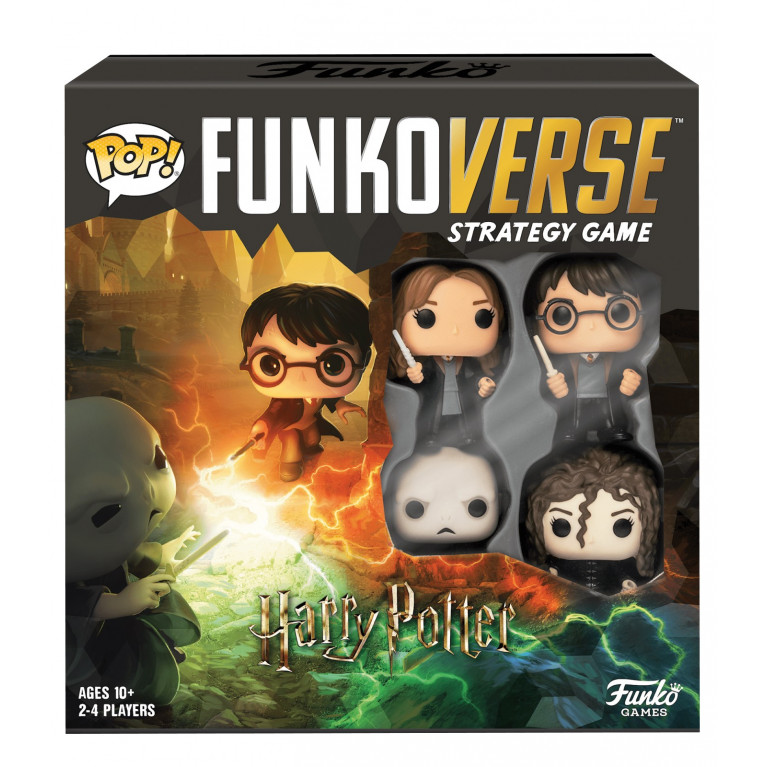 Настольная игра POP! Funkoverse: Harry Potter 100 Base Set