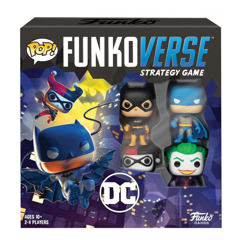 Настольная игра POP! Funkoverse: DC Comics 100 Base Set