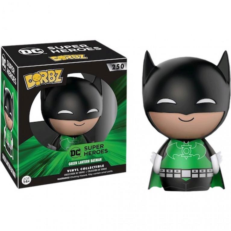 Бэтмен Зеленый Фонарь дорбз (Batman Green Lantern dorbz)