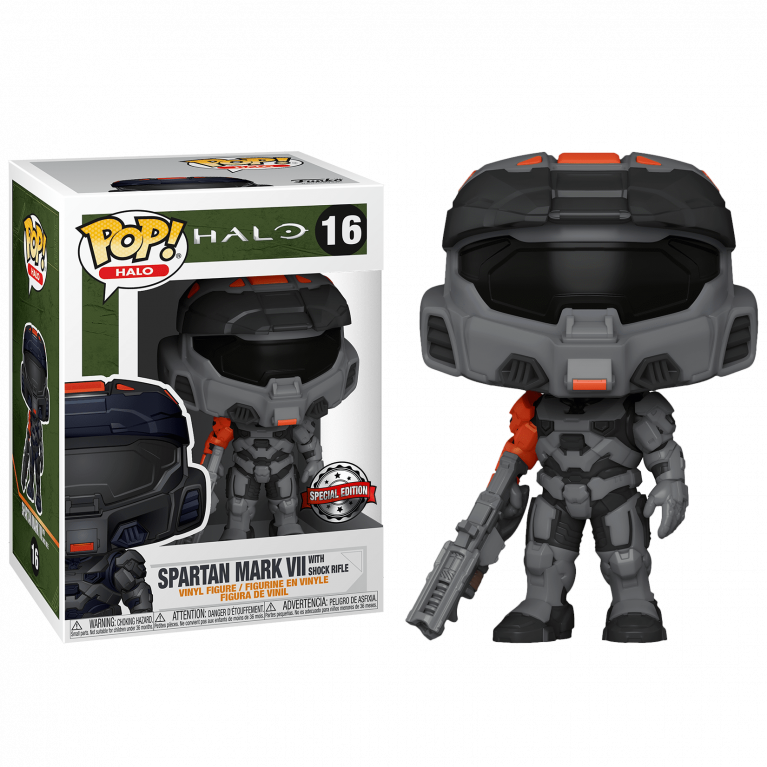 Спартанец Марк VII с винтовкой Funko POP (Spartan Mark VII with rifle)