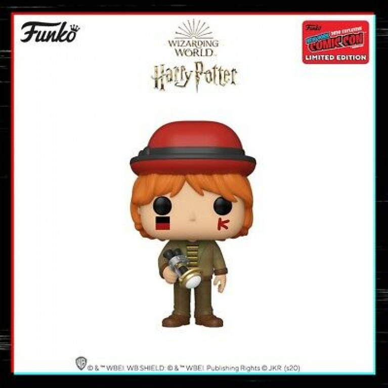Рон Уизли Чемпионат Мира Funko POP (Ron Weasley NYCC) - Эксклюзив