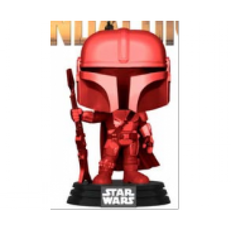 Мандалорец Красный Хром Funko POP (Mandalorian Red Chrome)