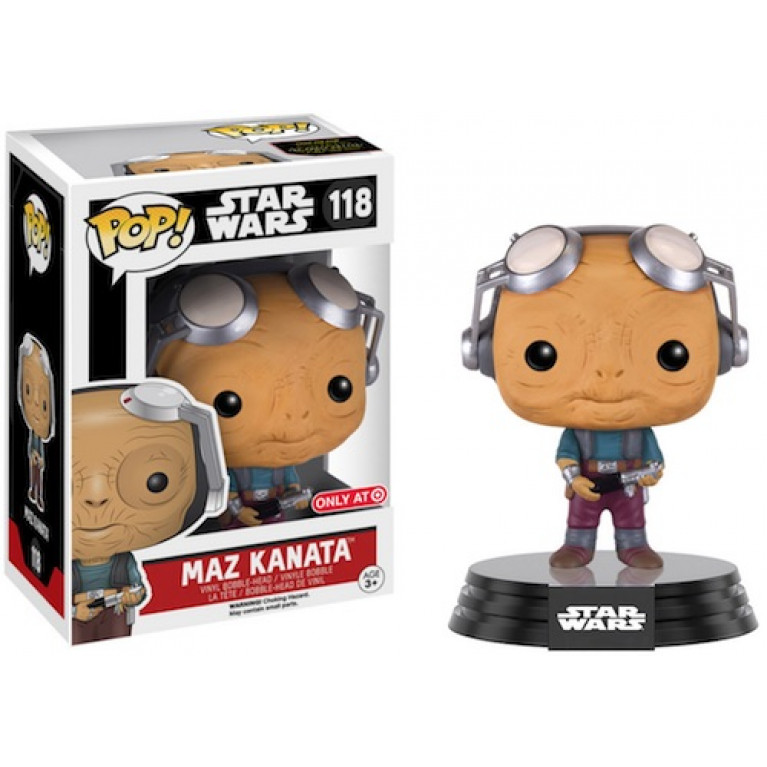 Маз Каната без очков Funko POP (Maz Kanata No glasses) - Эксклюзив