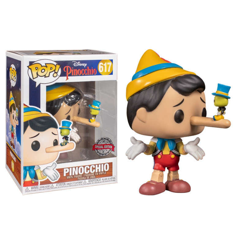 Пиноккио со сверчком Funko POP (Pinocchio with Jiminy Kricket) — Эксклюзив