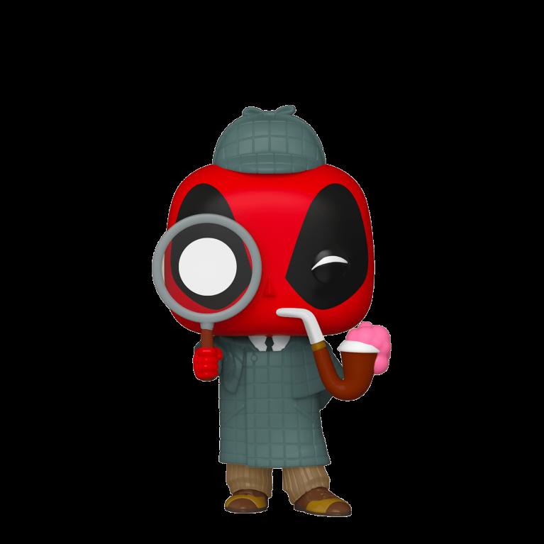 Дэдпул Шерлок Funko POP (Deadpool 30th Sherlock)