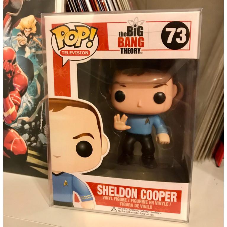 Шелдон Купер в костюме Стар Трек Funko POP (Sheldon Cooper Star Trek) - Редкая
