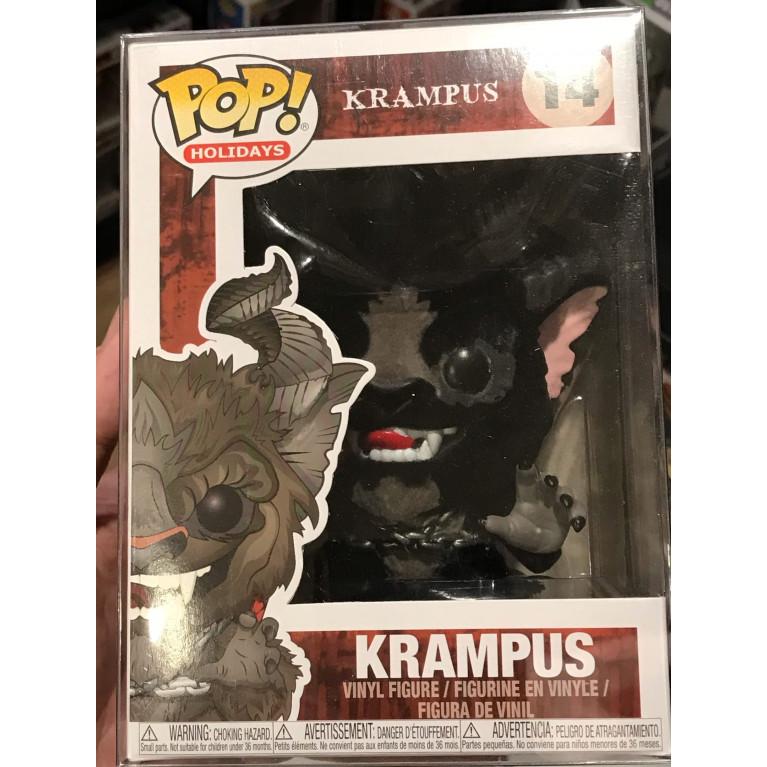 Крампус Черный Флок Funko POP (Krampus Flocked Black) - Эксклюзив
