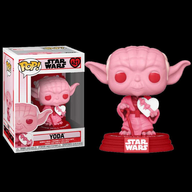 Йода с сердцем Funko POP (Yoda with heart)