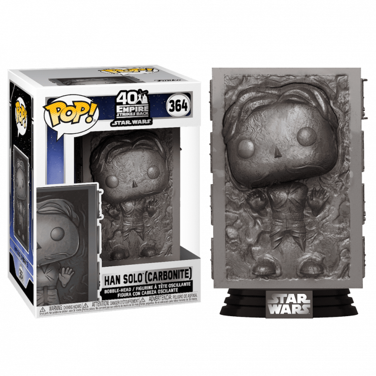 Хан Соло в карбоните Funko POP (Han Solo in Carbonite)
