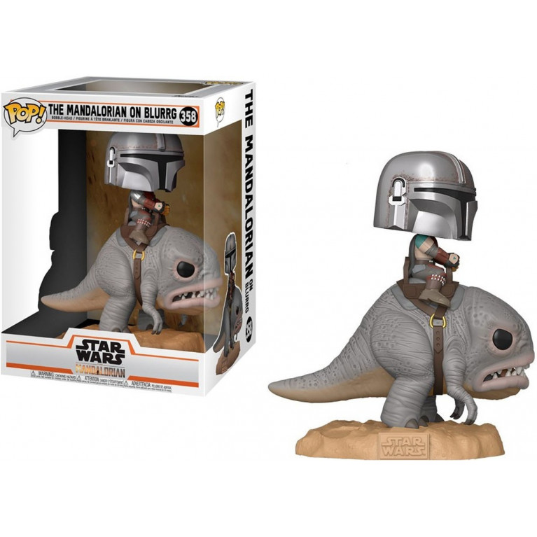Мандалорец на Блурре Funko POP Ride (Mandalorian on Blurr)