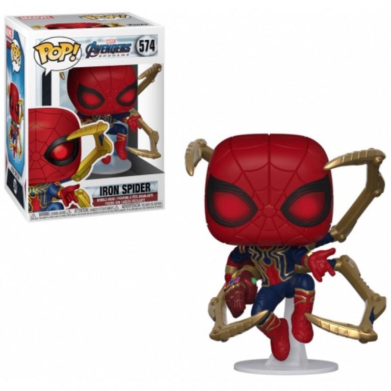 Железный Человек-Паук 2 с перчаткой бесконечности Funko POP (Iron Spider 2)