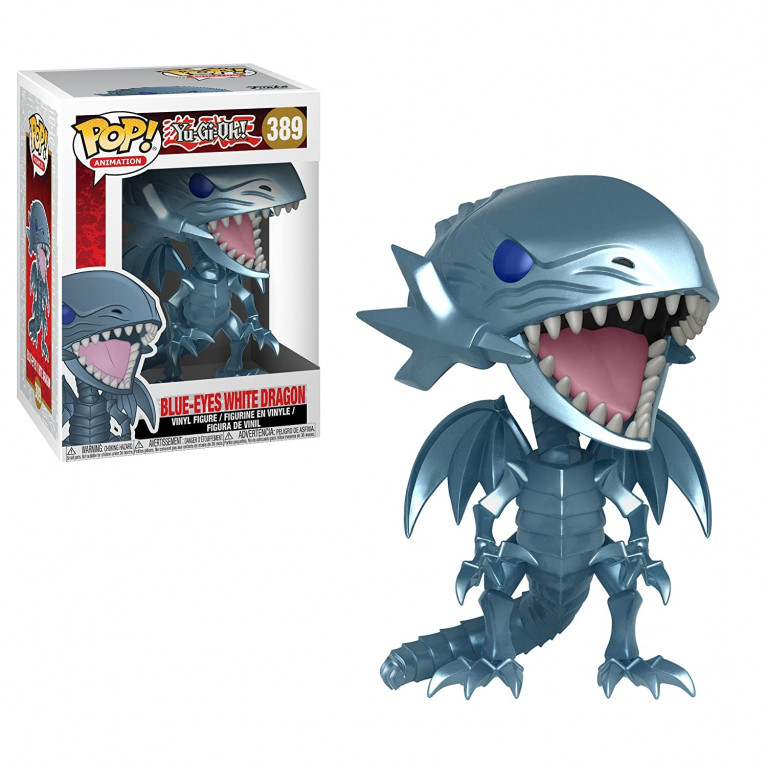 Белый Дракон с синими глазами Funko POP (Blue Eyes White Dragon)