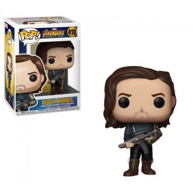 Баки Барнс Зимний Солдат Funko POP (Bucky Barnes Winter Soldier)