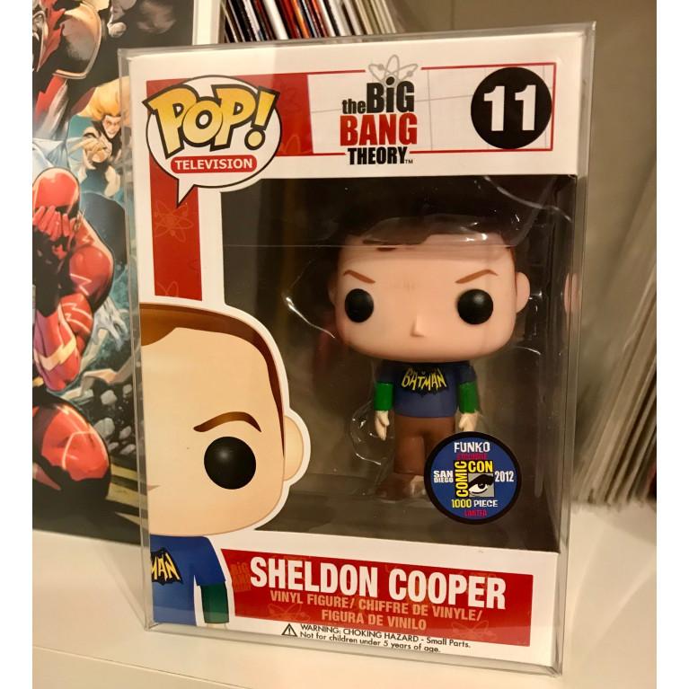 Шелдон Купер в футболке Бэтмен Funko POP (Sheldon Cooper Batman t-shirt) - Очень редкий Эксклюзив!