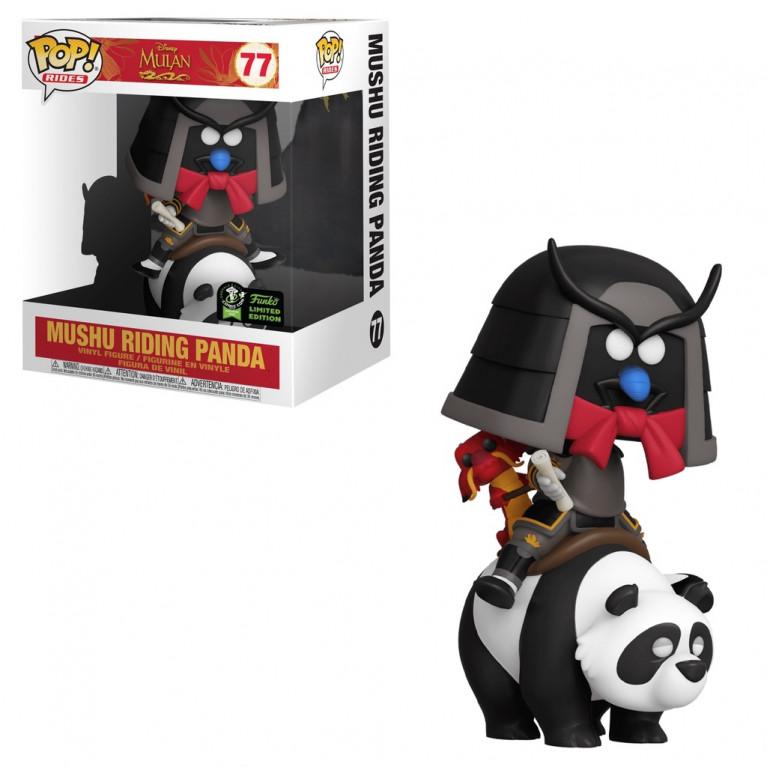 Мушу на Панде ECCC Funko POP (Mushu riding Panda) — Эксклюзив