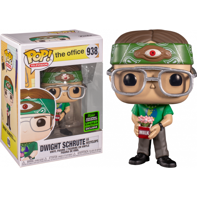 Дуайт Шрут Funko POP (Dwight Schrute as recyclops) — Эксклюзив