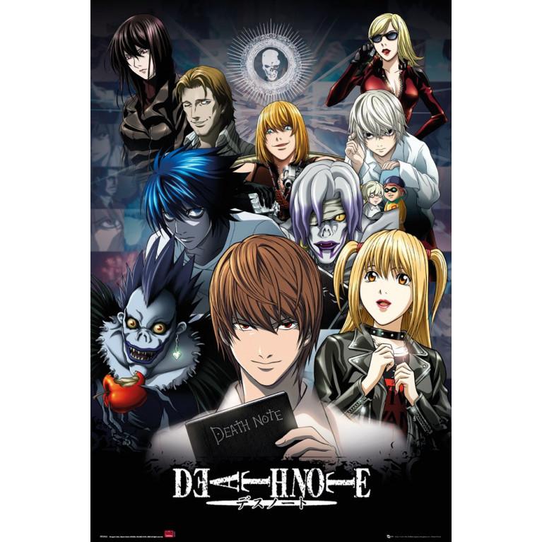 Постер «Тетрадь Смерти» 91