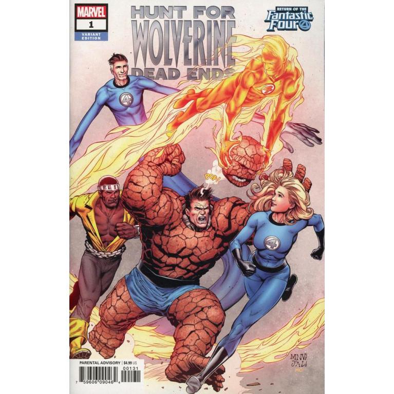 Hunt for Wolverine Dead Ends #1 variant cover
