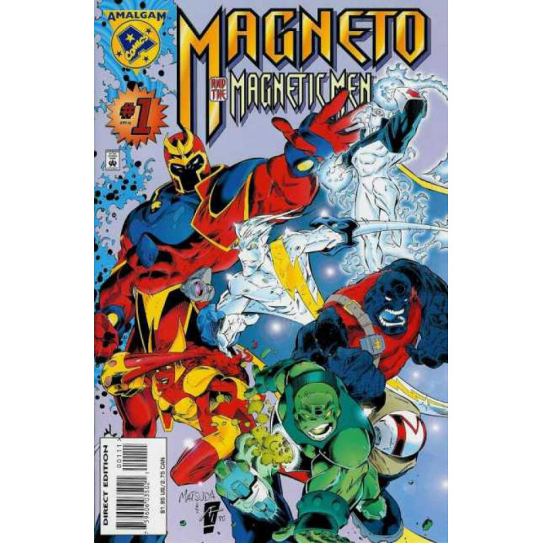 Magneto and the Magnetic Men #1 Amalgam Comics